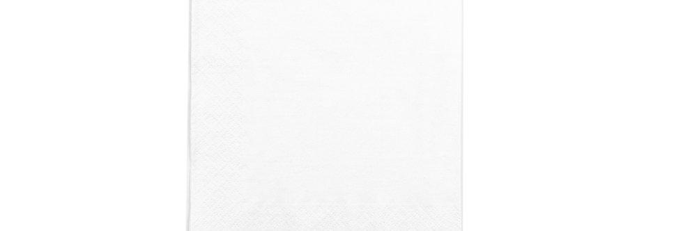 33 cm-es 2 rétegű, fehér szalvéta 5,7 Ft/db