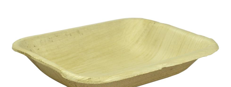 15cm-es szögletes pálmalevél tál 118Ft/db