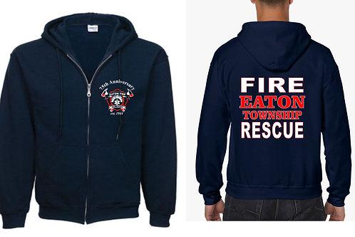 Eaton Fire Full Zip Hooded Sweatshirt