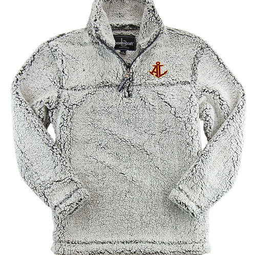 Avon Lake Sherpa Quarter zip pull over