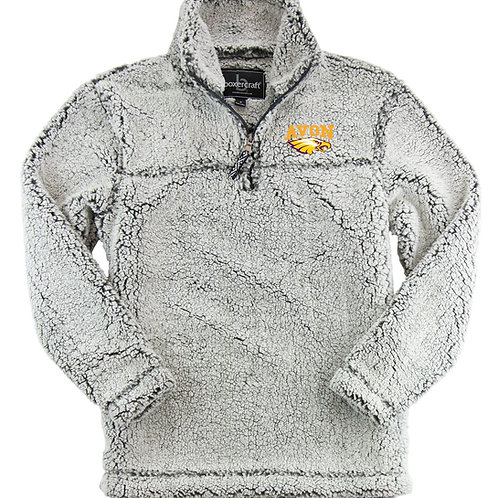 Avon Eagles Sherpa Quarter zip pull over