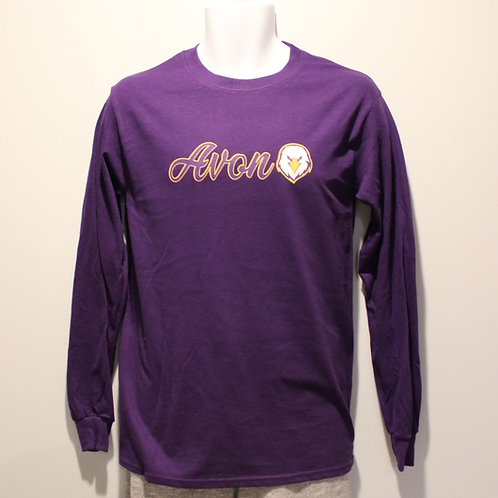 Long Sleeved Script Avon with Eagle Shirt
