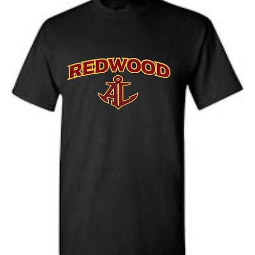 BLACK REDWOODSHORT SLEEVE T-SHIRT