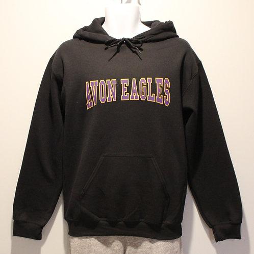 Avon Eagles Block Hooded Sweatshirt