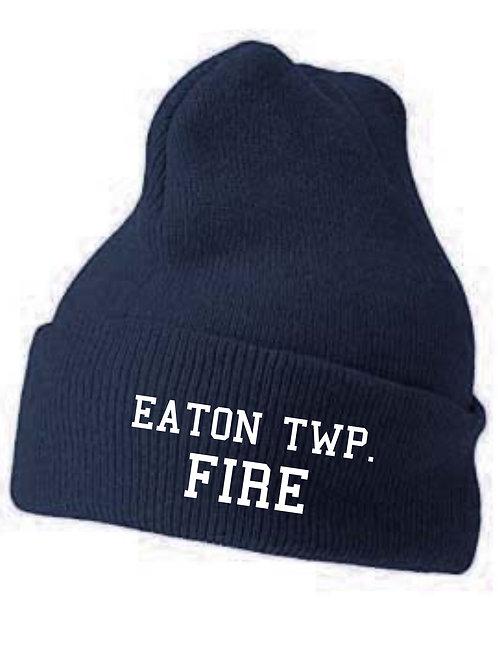 Eaton Fire cuffed beanie