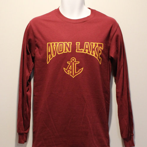 Long Sleeve Avon Lake With Anchor