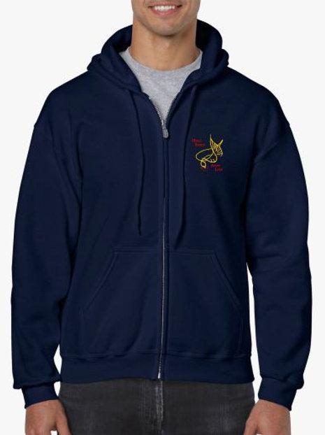 Holy Spirit Full Zip Sweatshirt
