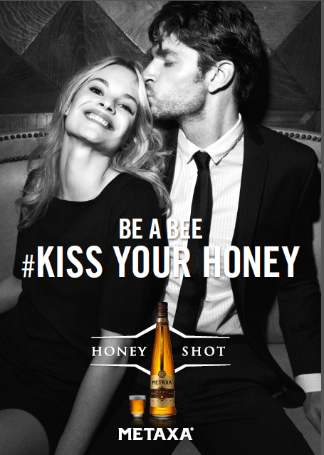 BE A BEE, KISS YOUR HONEY