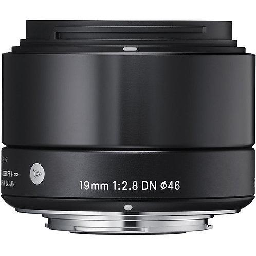 SIGMA Art 19 mm f/2.8 DN black - lens for Panasoni