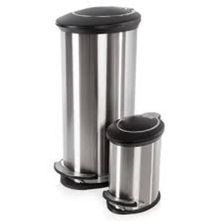 Morphy Richards - 30L and 5L Oval Pedal Bins