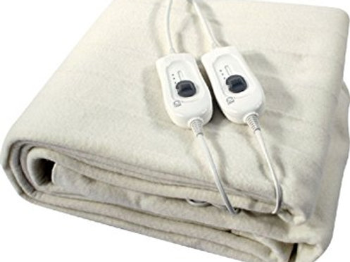 DOUBLE SIZE ELECTRIC BLANKET UNDER BED WARM NIGHT