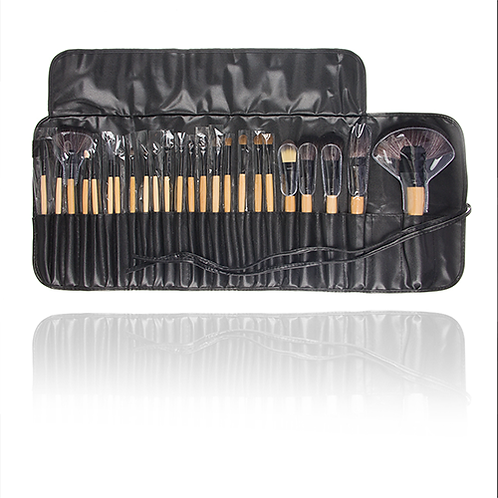 21. 24pcs makeup brush
