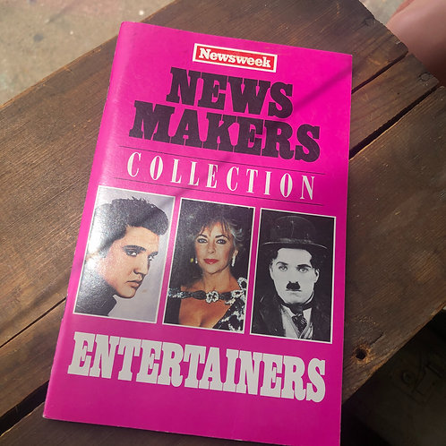News Makers Entertainers Issue Mid 1960s- Mid 1970s