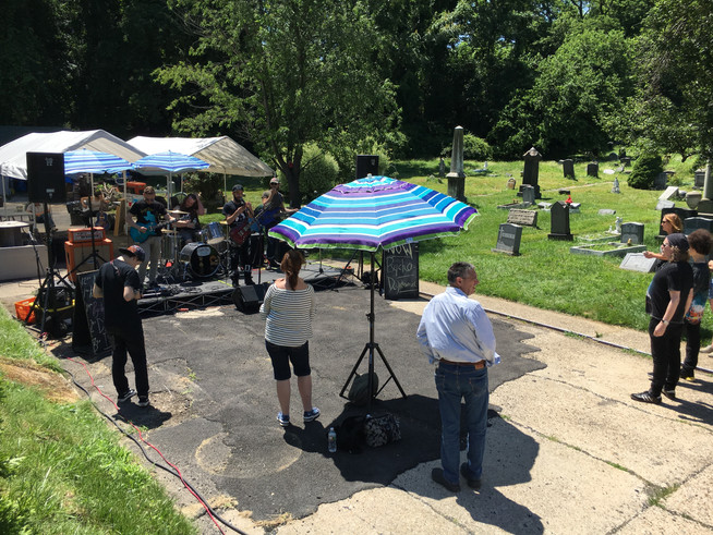 Jersey City Oddities Takes Over Harsimus Cemetery