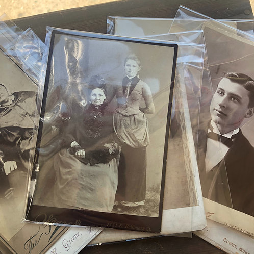 Mystery Cabinet Card