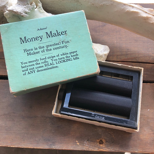 Vintage Adams Money Maker