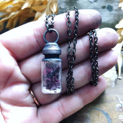 Custom Cremains Vial Necklace (Read Description)
