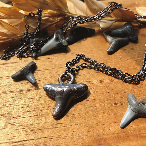 Copper Shark Tooth