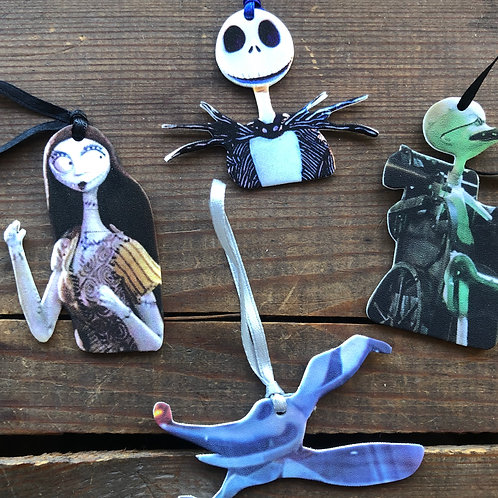 Nightmare Before Christmas Ornament Set
