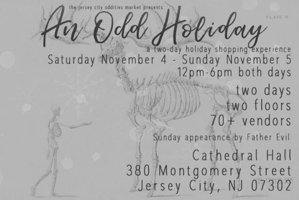 An Odd Holiday: The Market Returns to Cathedral Hall November 4th and 5th
