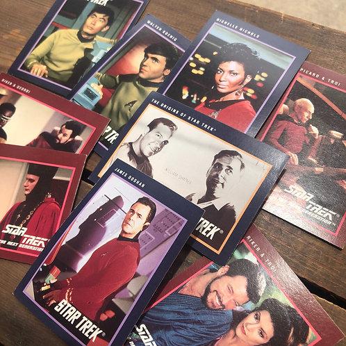 Star Trek Trading Cards Lot 1