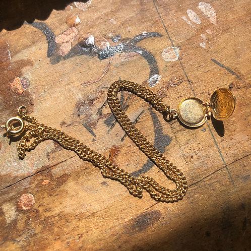 Tiny Locket Necklace
