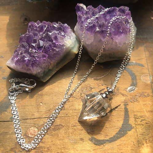 Glass Urn Necklace
