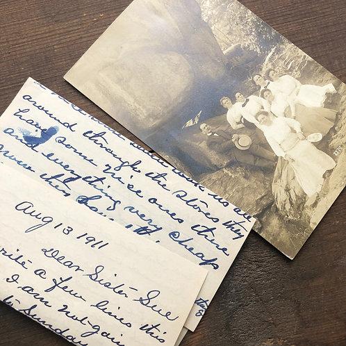 1911 RPP and Handwritten Letter