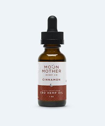 Moon Mother - 1000mg Full Spectrum Hemp Oil Cinnamon