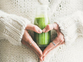 Cancer fighting Super Green Smoothie with CBD