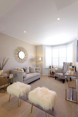 Fulham Interior Design Project - Open plan living space
