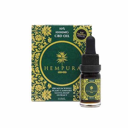 Hempura - 1000mg Full-Spectrum CBD oil