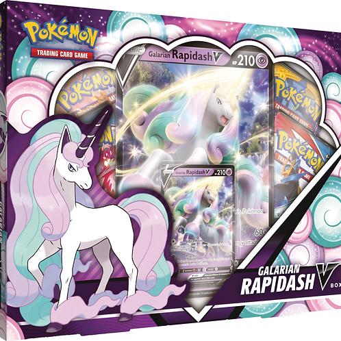 Pokemon Galarian Rapidash V Box