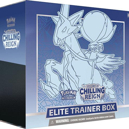 Pokemon - Sword & Shield 6 Chilling Reign - Elite Trainer Box