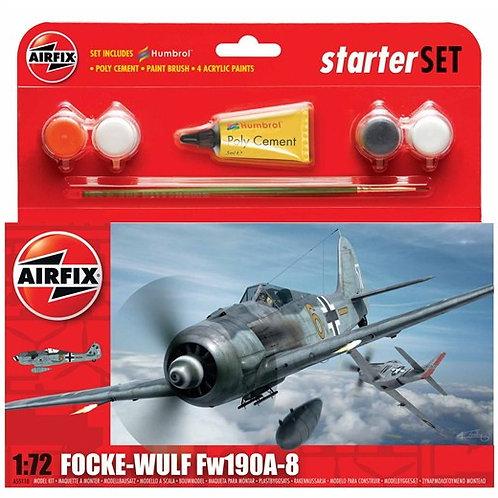 Airfix Focke Wulf FW190A-8 Starter Set