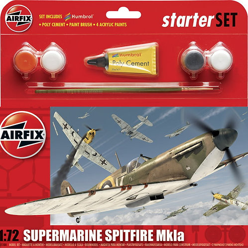 Airfix Supermarine Spitfire Mk.Ia Small Starter Set