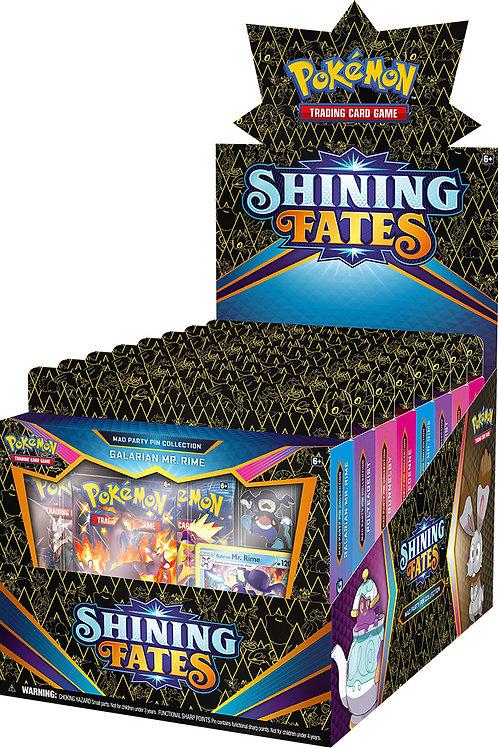 Pokemon Shining Fates Pin Collection Boxes