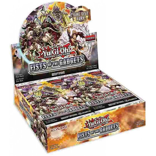 Yu-Gi-Oh! Battle Of Legends: Fists Of The Gadgets Boosters