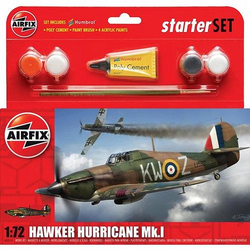 Airfix Hawker Hurricane Mk.I Starter Set