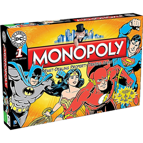 Monopoly DC Comic Retro Edition