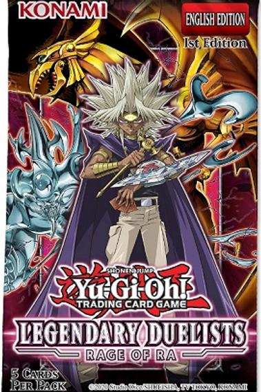 Yu-Gi-Oh! - Legendary Duelists 7 - Rage of Ra