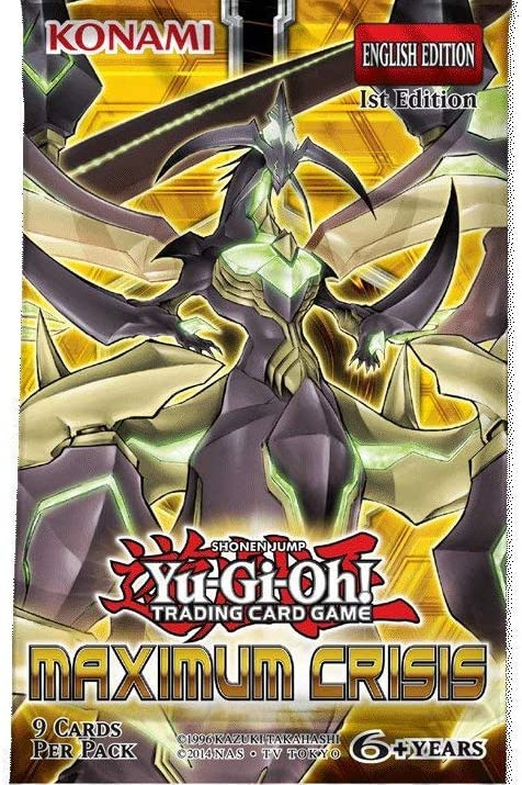Yu-Gi-Oh! Maximum Crisis Boosters