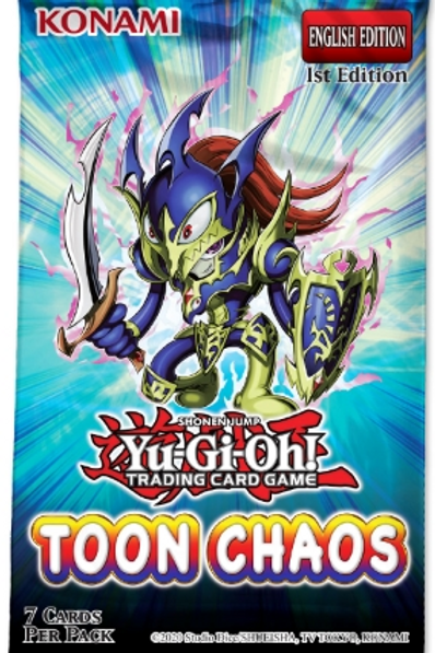 Yu-Gi-Oh! Toon Chaos Boosters