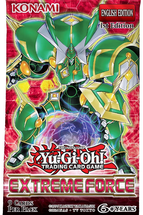 Yu-Gi-Oh! Extreme Force Boosters