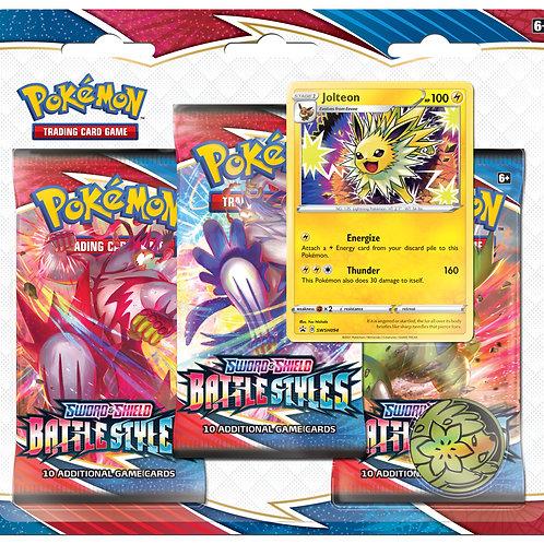 Pokemon Sword & Shield 5 Battle Styles 3-Pack Booster Display