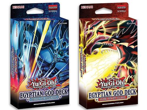 Yu-Gi-Oh! - Egyptian God Slifer The Sky Dragon & Obelisk The Tormenter Decks