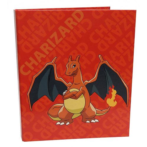 Pokemon Charizard Ring Binder
