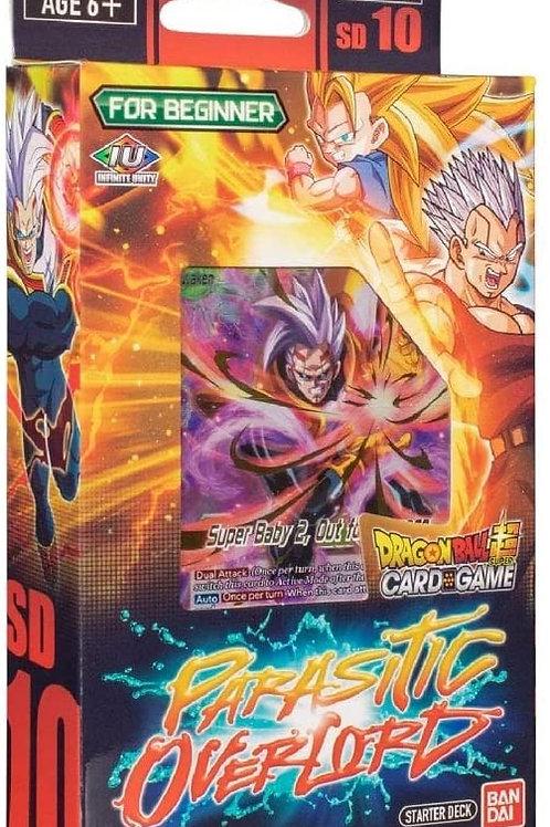 Dragon Ball: Parasitic Overlord Starter Deck 10