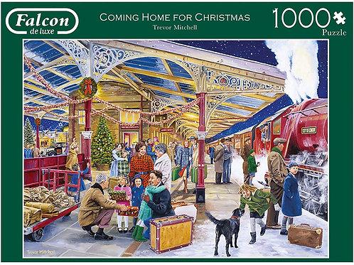 Falcon De Luxe - Coming Home For Christmas 1000 Piece Jigsaw Puzzle