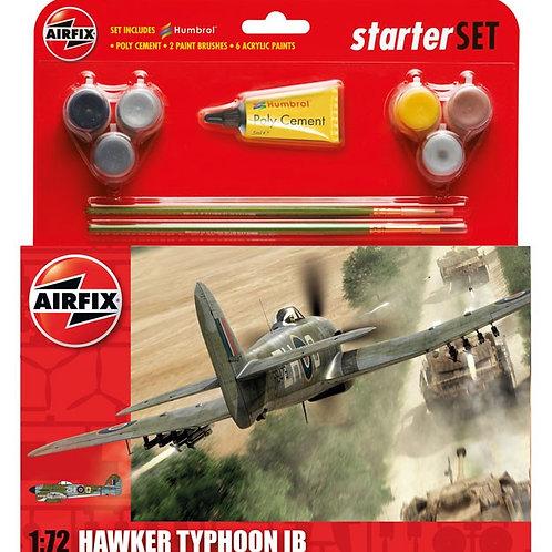 Airfix Hawker Typhoon Mk.Ib Starter Set